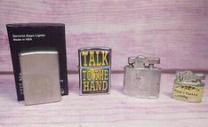 Lighter Lot Zippo Cedar Band Trading Post Kalan Manorlite Hearst Castle Japan in Collectibles, Tobacciana, Lighters, Other Collectible Lighters Zippo Harley Davidson, Old American Flag, Jimi Hendrix Guitar, Belt Knife, Talk To The Hand, Oil Light, Cigar Lighters