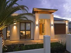 modern portico | Crompton House Australia 14 Luxurious Home in Australia with an ...