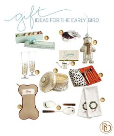 10 gift ideas for the early bird
