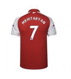 Arsenal Henrikh Mkhitaryan 7 Hemmatröja 17-18 Kortärmad Arsenal Fc, Premier League, Sports, Tops, Fashion, Moda, La Mode, Sport, Shell Tops