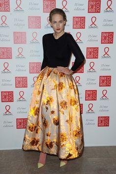 Leelee Sobieski em Christian Dior