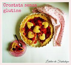 Crostata con crema alla vaniglia e tripudio di lamponi di Audrey Borderline