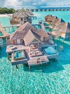 Beautiful Vacation Spots, Beautiful Places To Travel, Cool Places To Visit, Places To Go, Vacation Places, Dream Vacations, Vacation Trips, Aloita Resort, Gili Lankanfushi