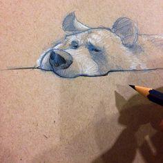 Simon Hayag III @simple_simon A Bear sketch ✏️...Instagram photo   Websta (Webstagram)