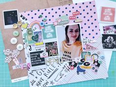layout com a coleção All Heart da Crate Paper Love Rules, All Heart, Crate Paper, Crates, Dan, Layout, Scrapbook, Page Layout, Scrapbooks