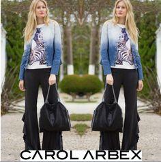 Produção linda e perfeita para o dia de hoje! - www.carolarbex.com