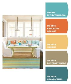 Kitchen color ideas - Paint colors from Chip It! by Sherwin-Williams
