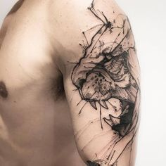 Leãozinho! Tattoo Artist: Victor Montaghini