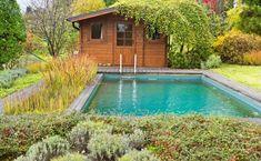Naše práce   Flera Water Features, Land Scape, Swimming Pools, Cobalt, Studios, Shed, Outdoor Decor, House, Home Decor