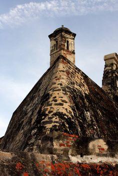 Castillo de San Felipe.  Cartagena. Colombia