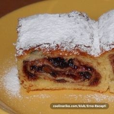 Griz pita sa džemom - Fantastična pita, koja će vas osvojiti na prvi zalogaj! Albanian Recipes, Croatian Recipes, Croatian Cuisine, Biscuit Sandwich, Biscuit Recipe, Sweet Recipes, Cake Recipes, Dessert Recipes, Kitchen Recipes