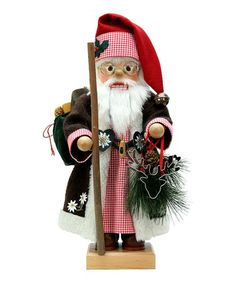 Look what I found on #zulily! 18.5'' Alps Santa Limited-Edition Nutcracker #zulilyfinds