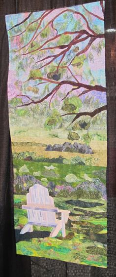 Serenity, a beautiful quilt from the Long Beach International Quilt Festival 2013