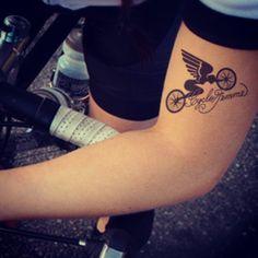 De leukste fiets tatoeages op een rij