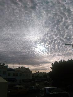 Desde las Islas Canarias  ..Fotografias  : Amanecer entre algodones  ...San Fernando de Maspa...