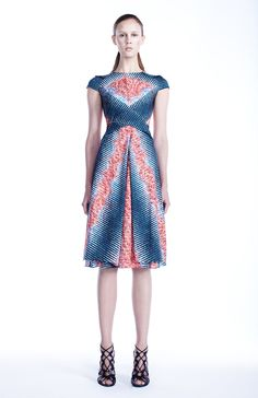 I'm too late to the game to find this dress by Peter Pilotto (Resort 2012), but a girl can hope.