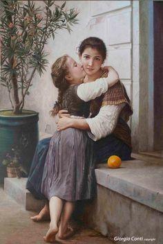 """""""L'abbraccio"""" di Giorgio Conti"""