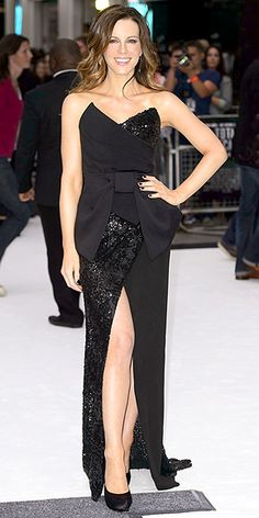 Donna Karan.  Kate Bekinsale.  Perfect dress for the Total Recall premiere in London.