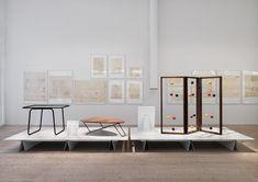Arkitekturmuseet Greta Grossman / http://www.henriknygrendesign.se/projects/arkitekturmuseet/greta-grossman-utstallning/