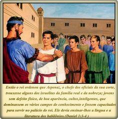 Palavra e Ação : O livro de Daniel- Daniel 1