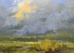 """Bethanne Kinsella Cople, """"As the breeze rises, and turn many-coloured"""" - 8x10, oil on canvas--at Principle Gallery"""