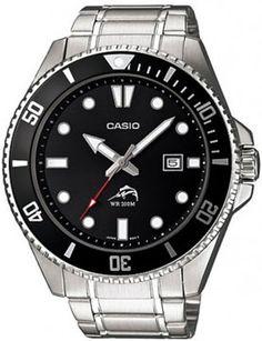 de873ea5645 Men s Casio Dive-Style Watch – Black   Target