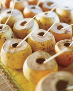 Coconut water served in its shell is a refreshing pre-ceremony treat for guests