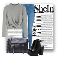"""SheIn10"" by irmica-831 ❤ liked on Polyvore featuring Balmain and George"