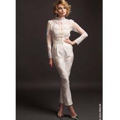 Dare to wear it on your wedding day. 2015 Bridal collection #parlorstudio #bridaldress #demicouture #lace #handmade #embroidery #weddinglove #aiffrentbride #weddingideas
