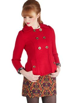 Let's See Cleveland Jacket, #ModCloth