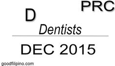 December 2015 Dentists Board Exam Results PRC List of Passers (Written) Board Exam Result, Exam Results, Dentists, Announcement, December, Boards, Writing, School, Planks