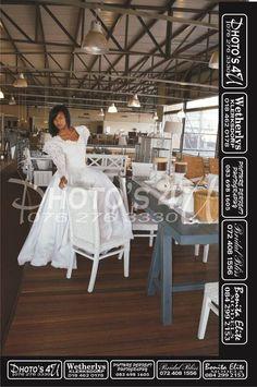 Long sleeve wedding dress at Bridal Bliss