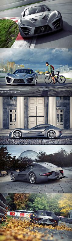 Batmobile-Inspired Felino CB7 Supercar