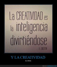 La creatividad es la inteligencia divertiéndose. A great quote, a brief blog post about using it for the first day of class, and a link to a list of the benefits of learning a second language with well-documented sources published by the NEA. Visit http://www.estudiafeliz.com for more interesting materials for Spanish teachers and students!