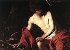 Michelangelo Merisi da Caravaggio • John the Baptist, ca.1604
