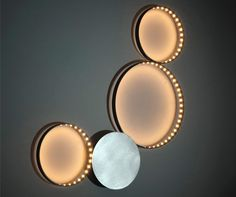 Wonderful circle line LED Light _More on our website: www.designalpino.it