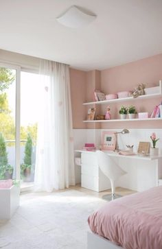 wanddesign ideen schlafzimmer weibliches designr osa wandfarbe Source by Unique Teen Bedrooms, Teenage Girl Bedrooms, Modern Bedrooms, Pink Bedrooms, Trendy Bedroom, Bedroom Romantic, Teenage Room, Pink Bedroom Design, Teen Bedroom Designs