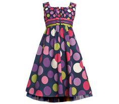 Ella Blu Store - Bonnie Jean Girl Plus 10.5-20.5 Navy Multi Twin Dot Triple Ribbon and Bow Dress, $26.00 (http://www.ellablustore.com/bonnie-jean-girl-plus-10-5-20-5-navy-multi-twin-dot-triple-ribbon-and-bow-dress/)