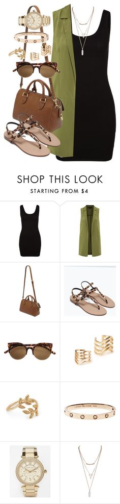 """Untitled #4600"" by angela379 ❤ liked on Polyvore featuring Zalando, Mulberry, Zara, H&M, Forever 21, Michael Kors, Wet Seal, women's clothing, women's fashion and women"