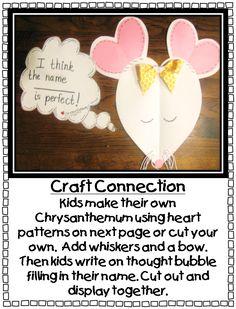 Chrysanthemum Name activity- love!!