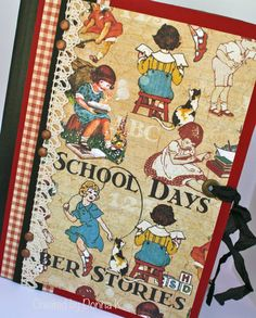 School Days Journal Composition Book Re-do