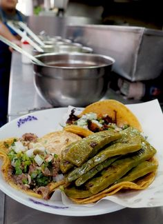 Offal Tacos at Los Cocuyos - Eat Local in Mexico City