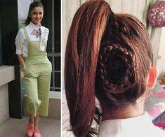 Alia Bhatt Different Hairstyles