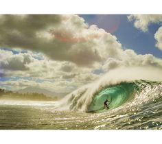 """Emerald Swell"" - Pipeline, North Shore of Oahu - Photo By Zak Noyle"