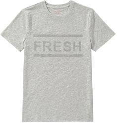Joe Fresh Embellished Text Tee - Grey Mix   Navy an more #Joe Fresh For #Women: #AD #kimludcom #sscollective  http://shopstyle.it/l/AV59