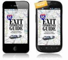 I-95 Exit Guide. This Guide Informs You About Exit Services, Rest Areas, Attractions, Road Construction, Weather, Gas Prices, Restaurants, Hotels, Outlets, Camping Sites, & More...From Maine To Florida!