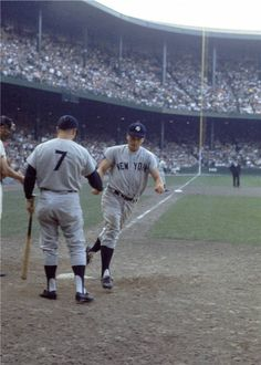 Roger Maris and Mickey Mantle - NY Yankees