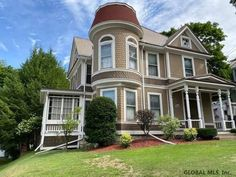 c. 1900 Queen Anne located at: 32 Wilder Ave Hoosick Falls, NY 12090