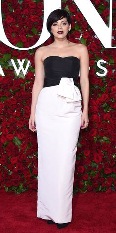 See Photos from the 2016 Tony Awards Red Carpet! - Krysta Rodriguez from InStyle.com