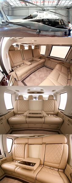 Eurocopter EC 155: https://www.google.co.uk/search?q=Eurocopter+EC+155&source=lnms&tbm=isch&sa=X&ved=0CAcQ_AUoAWoVChMImorxupiEyAIVRdEUCh01mQId&biw=1366&bih=643#tbm=isch&q=Eurocopter+EC+155+interior&imgrc=_